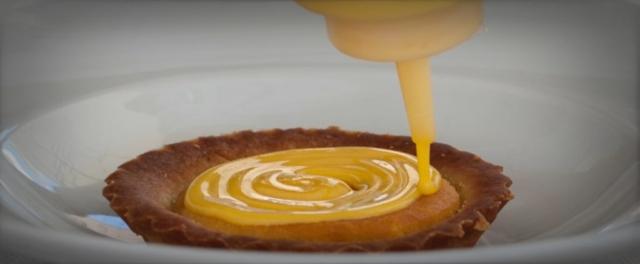 La tartelletta con Crema Inglese e frutta